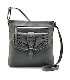 Ruff Hewn Crossbody With Flap Pocket With Cutouts