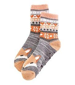 Legale® Fair Isle Critter Crew Socks