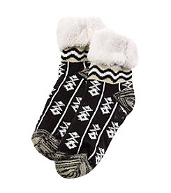 Legale® Palmino Print Slipper Socks