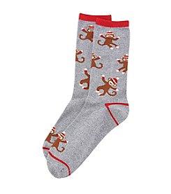 Legale® Monkey Crew Socks