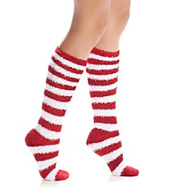 Legale® Feather Stripes Knee High Socks