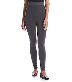 Relativity® Heather Plus Size Leggings
