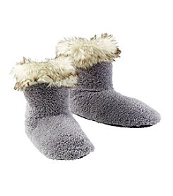 Fuzzy Babba® Fur With Turn Cuff Slippers