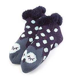 Fuzzy Babba® Cozy Warmer Owl Slippers