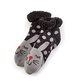 Fuzzy Babba® Cozy Warmer Rabbit Slippers