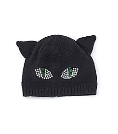 Collection 18 Studded Cat Beanie Hat
