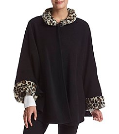 Cejon® Faux Fur Cape