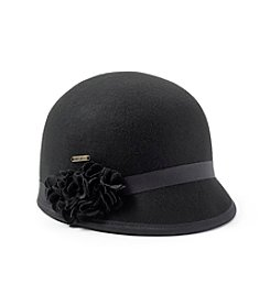 Nine West® Felt Cap With Flower
