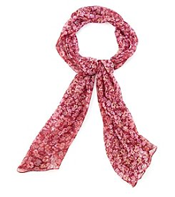 Collection 18 Flutterby Floral Scarf