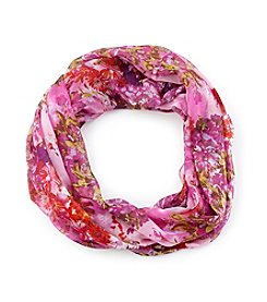 Collection 18 Garden Floral Infinity Scarf