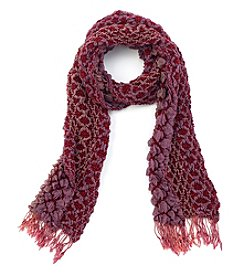 Collection 18 3D Cozy Geo Scarf