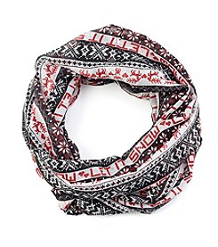 Collection 18 Let It Snow Infinity Scarf