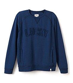 Lucky Brand® Boys' 4-7 Rocker Pullover