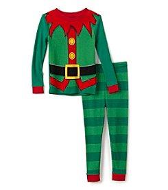 Komar Kids® Boys' 2T-4T 2-Piece Little Elf Pajama Set