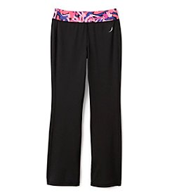 Exertek® Girls' 7-16 Abstract Waistband Yoga Pants