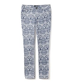 Squeeze® Girls' 7-16 Patterned Skinny Jeans