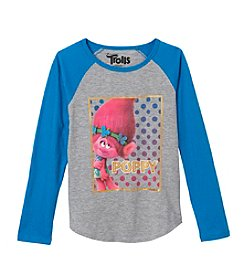 DreamWorks® Trolls Girls' 2T-16 Poppy Raglan Tee