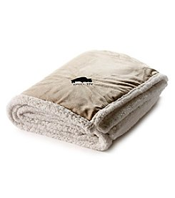 BFLO Buffalo Sherpa Throw Blanket