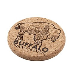BFLO Buffalo NY Themed Drink Coasters
