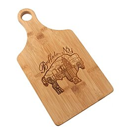 BFLO Buffalo Cityscape Bamboo Cutting Board