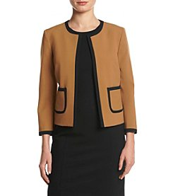 Nine West Framed Jacket With Pockets