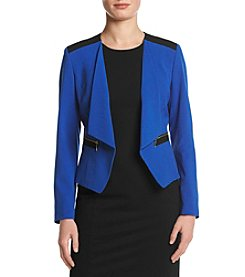Nine West® Stretch Kiss Front Jacket