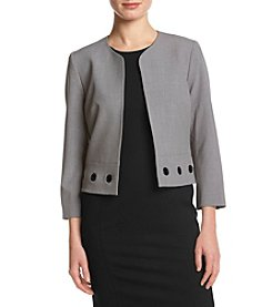 Nine West® Boxy Collarless Jacket