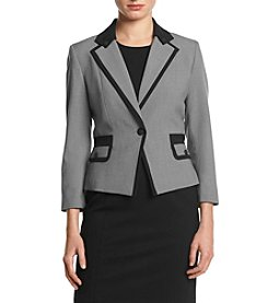 Nine West® Jacket With Flap Pockets