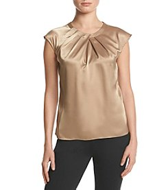 Kasper® Gathered Neck Top