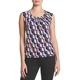 Kasper® Printed Knit Cami