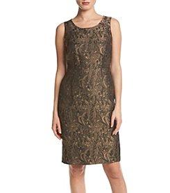 Kasper® Jacquard Dress