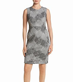Calvin Klein Lace Pattern Dress