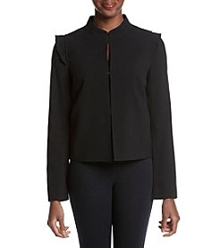 Nine West® Jacket With Shoulder Detail