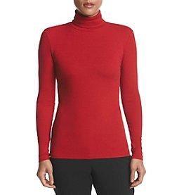 Karen Kane® Ribbed Turtleneck Sweater
