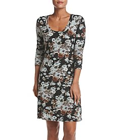 Karen Kane® Floral A-Line Dress