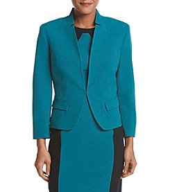 Nine West® One-Button Shawl Collar Jacket