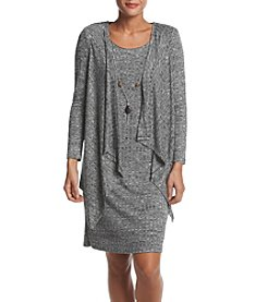 R&M Richards® Drape Jacket Dress
