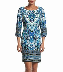 Madison Leigh® Paisley Medal Dress