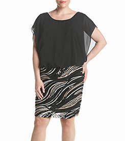 S.L. Fashions Chiffon Top Dress