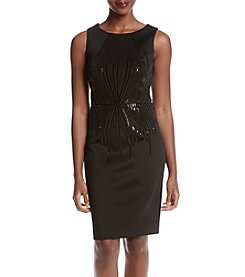 Calvin Klein Sequin Waist Dress