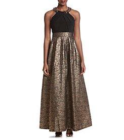 Eliza J® Beaded Halter Dress