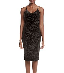 Jessica Simpson Mesh Sheath Dress