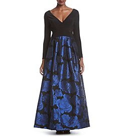 Xscape ITY Top Long Dress