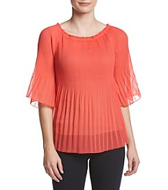 Adiva Pleated Blouse