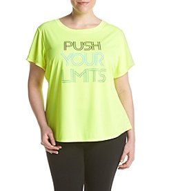 Exertek® Plus Size Push Your Limits Tee