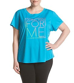 Exertek® Plus SIze Doing This For Me Tee