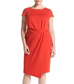 Jones New York® Plus Size Tucked Dress