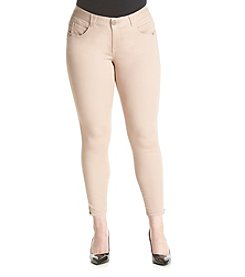 Democracy Plus Size Absolute Zip Leggings