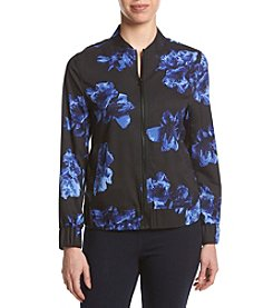 Ruff Hewn GREY Soft Printed Bomber Jacket