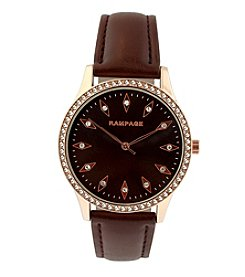 Rampage® Women's Quartz Metal Automatic Watch
